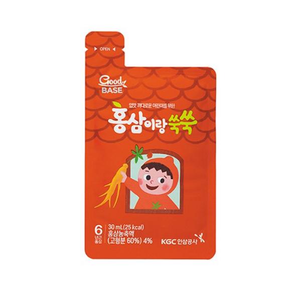 Nước hồng sâm Goodbase dành cho trẻ em KGC Cheong Kwan Jang 30ml x 28 gói